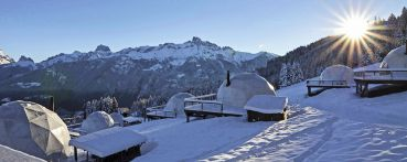 Alpes : Meeting & Igloo