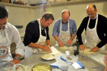 Florence : Team cooking italien